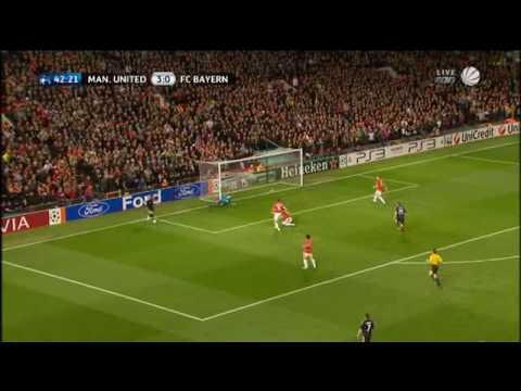Manchester United vs. Bayern München (07.04.10) - Alle Bayern-Tore