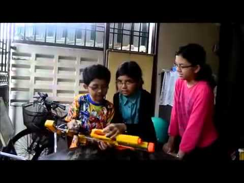 Malay Kids Speak Chinese Mandarin) - The Nerf Kid Pt1 video