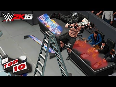 WWE 2K18 Top 10 Extreme F5's thumbnail