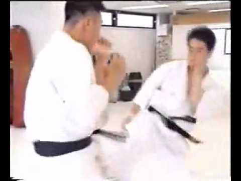 ‪Kancho Matsui sparring with some fighters‬‏   YouTube Image 1