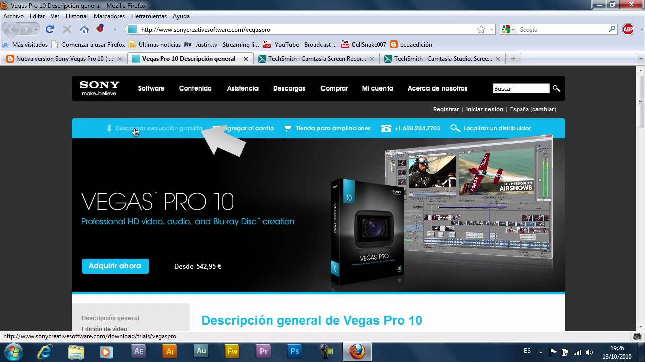 Sony vegas pro 10 x86 x64 cracked leech speedmirrored