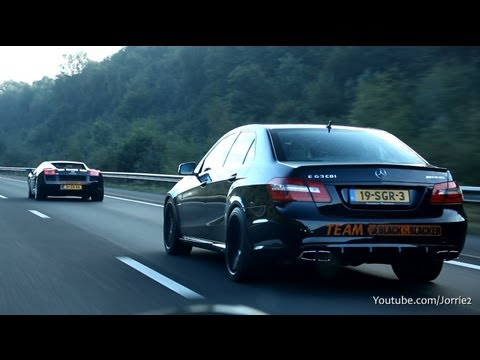 Mercedes-Benz E63 AMG Sound & Drifting! - 1080p HD