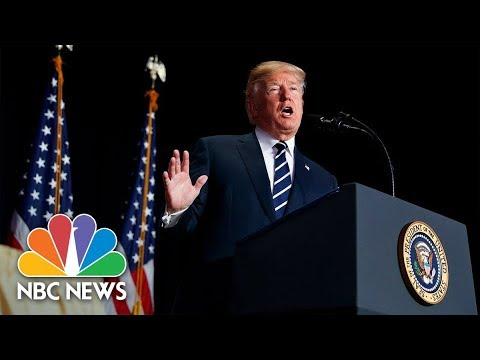 President Donald Trump Delivers Remarks On Opioid Crisis In New Hampshire   NBC News