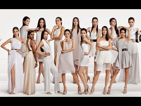 Asias Next Top Model Cycle 3 - Top 14 Contestants - YouTube