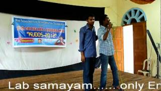 MIIT College Day 2012 : Kolavari MIIT Version by S5 MCA