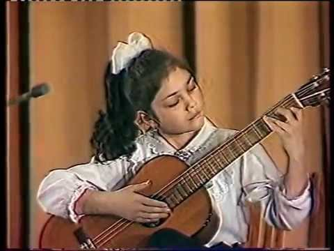 Irina Kulikova at eight
