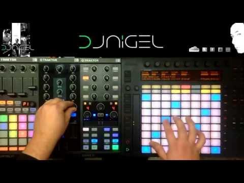 TRAKTOR F1 X1 MK2 Z1   ABLETON PUSH DJ NIGEL TEST