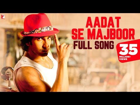 Aadat Se Majboor - Full Song In Hd - Ladies Vs Ricky Bahl video