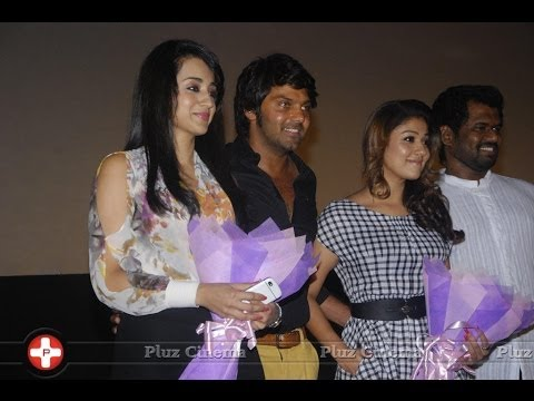 Arya's Bad Words In Front Of Trisha And Nayanthara In Amarakaviyam Audio Launch video