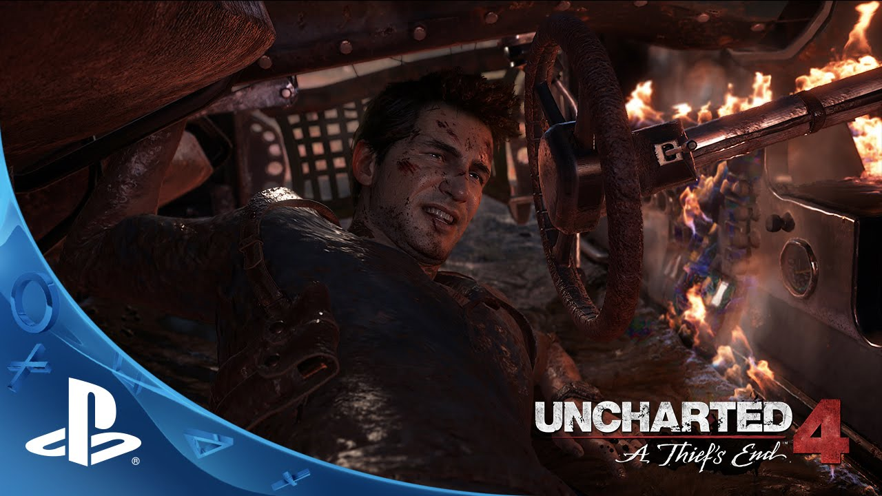 [UNCHARTED 4- A Thief's End - E3 2015 - Sam Pursuit Gameplay ...] Video