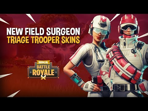 *NEW* Field Surgeon & Triage Trooper Skins!! - Fortnite Battle Royale Gameplay - Ninja & Nickmercs