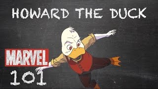 Waddled Across Our World – Howard the Duck – Marvel 101
