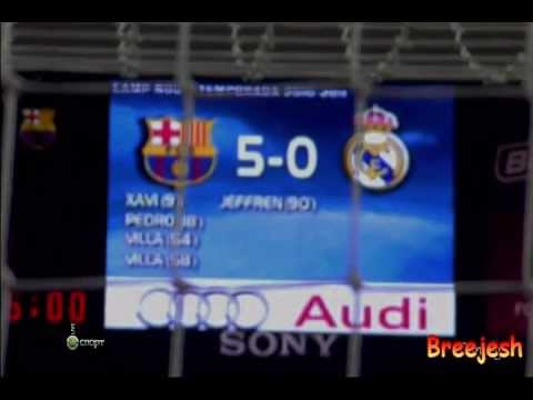 Barcelona Vs Real Madrid 5-0 El Clasico - This Is War Hd video