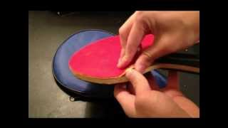 Ping Pong - How to remove rubber from blade