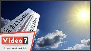 بالفيديودرجات الحرارة المتوقعة اليوم الأحد 852016 بجميع محافظات مصر