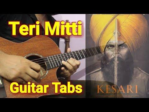 Download Lagu  Teri Mitti Guitar Instrumental Tabs with backing Track - Kesari | Arko, B Praak Mp3 Free
