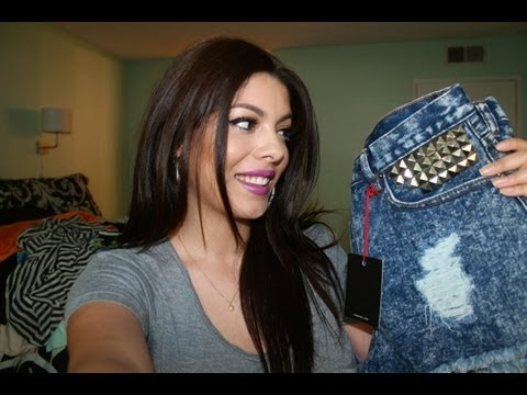Huge Shopping Haul : Shoes, Clothes and Short Shorts!