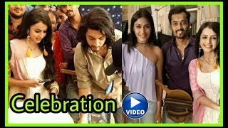 Dil bole Oberoi Team celebrating 100 episodes |Omkara and Gauri |Full video and offscreen pics