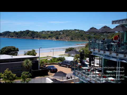 Daily Life Anywhere - Oneroa, Waiheke Island, New Zealand