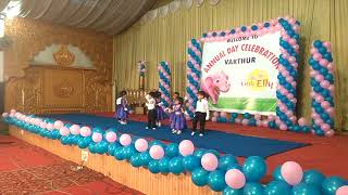 Playgroup Kids Annual Day Performance | Little Elly Varthur | 2018