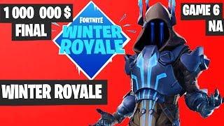 Fortnite Winter Royale GRAND FINAL Game 6 NA Highlights [Fortnite Tournament 2018]