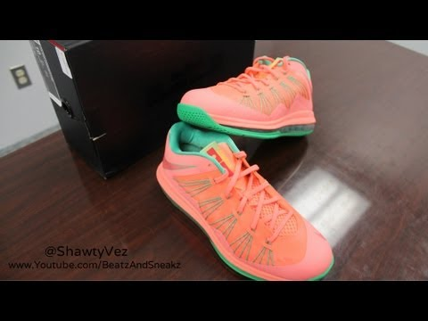Nike LeBron X Low Mango Review