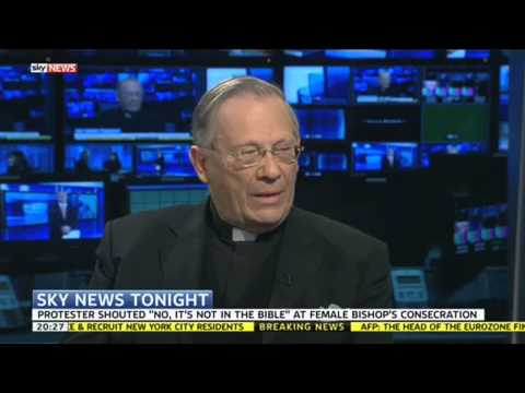 "Bishop Protest Reverend: ""Female Bishops Not Found In Bible"""