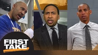 Stephen A. sides with Reggie Miller: Magic Johnson should speak up on LaVar Ball | First Take | ESPN