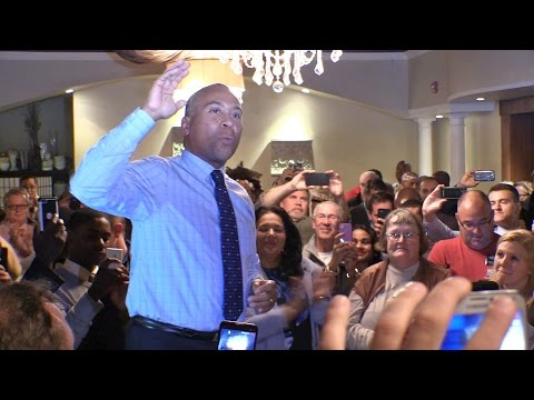 Governor Patrick and Martha Coakley Rally in Worcester