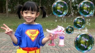 GIANT BUBBLES Game For Kids – Trò Chơi Bong Bóng Xà Phòng ❤ AnAn ToysReview TV ❤