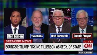 Dennis Prager Grapples With Leftists over Tillerson Selection