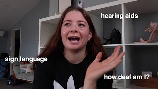 speaking about my hearing loss: what it's like being deaf