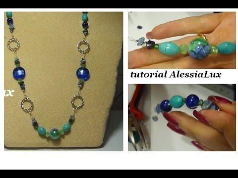 Diy tutorial collana estiva creata insieme gioielli fai - Tutorial fai da te ...