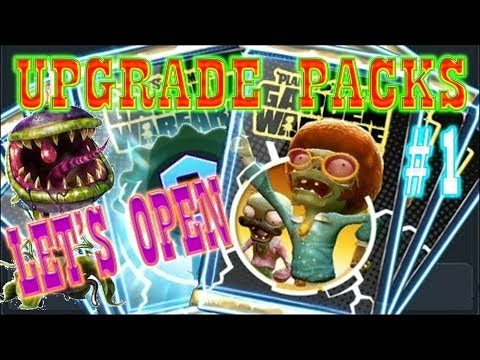Plants vs Zombies Garden Warfare: (XBOX ONE) UPGRADE CHARACTER PACK OPENING part 1