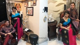 Navya Nair Real House || Inside View || Sweet Home ||