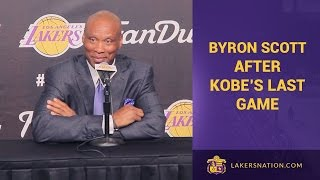 Byron Scott After Kobe Bryant's Final Game: 'Incredible'