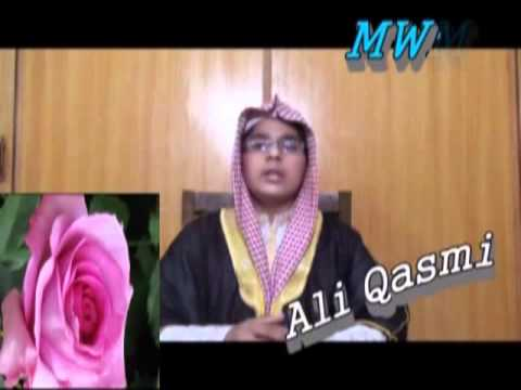 New Naat Sharif Urdu Kalam Beautiful Naat 2012  Tujh Sa Koy Nahi  Must See  By Ali Qasmi video