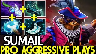 SumaiL [Pangolier] Pro Mid Aggressive Plays Imba Hero Meta 7.21 Dota 2