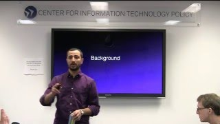 CITP Luncheon Speaker Series: Muneeb Ali – Experiences with Building a Global PKI with Blockchains