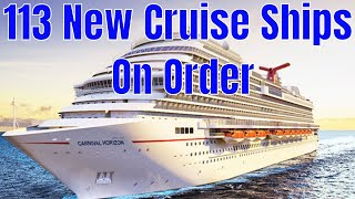 Cruise Ship Orders Have Hit A Record 113 Ships To Be Delivered By 2027