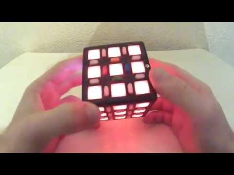 Электронный кубик Рубика - обзор, принцип действия