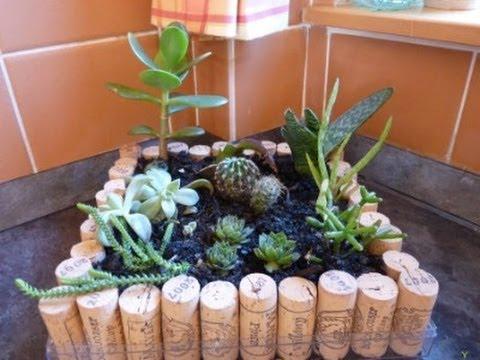 Kreatív nyári ötlet: Kaktusztartó
