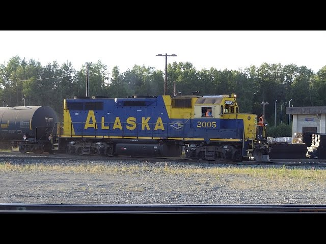 Alaska Railroad days - YouTube