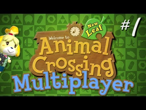 Animal Crossing: New Leaf (Part 1) Terrorizing Jacky - TSR Let's Play