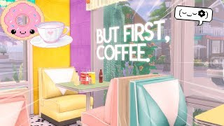 LANCHONETE AMERICANA VERSÃO KAWAII! - Speed Build | The Sims 4