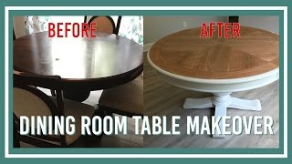 (15.8 MB) Dining Room Table Makeover Mp3