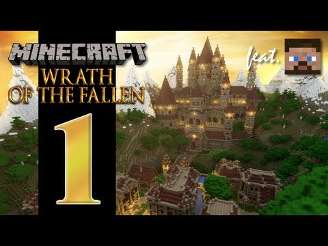 Minecraft Wrath Of The Fallen feat. Anders EP01 Trapped. Game Over.