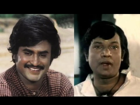 Rajinikanth, Goundamani Comedy - 16 Vayathinile Tamil Movie Scene - Rumor Has It