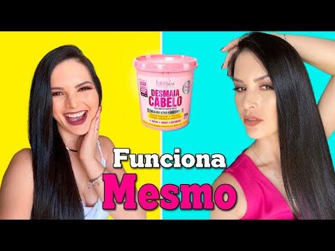 MÁSCARA DESMAIA CABELO DA FOREVER LISS - CABELO MARAAAA EM MINUTOS!!!