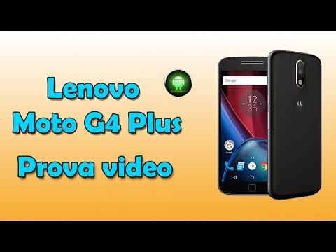 Prova video Lenovo Moto G4 Plus in 1080p by Tecnoandroid